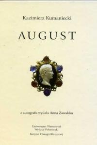 Okładka publikacji 'August'