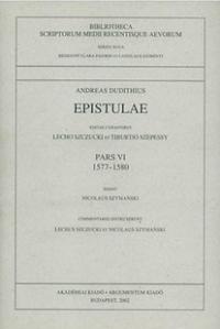 Epistulae, pars VI (1577–1580)