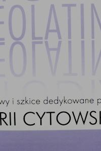 Okładka publikacji 'Studia Neolatina. Rozprawy i szkice dedykowane profesor Marii Cytowskiej'
