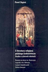 Okładka publikacji 'Z literatury religijnej polskiego średniowiecza'