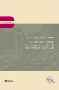Okładka publikacji 'Siedem wzgórz Rzymu. M. Terentius Varro