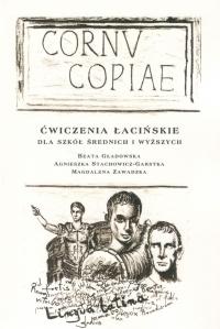 Okładka publikacji 'Cornu copiae. Ćwiczenia łacińskie dla szkół średnich i wyższych'