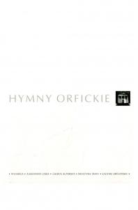 Okładka publikacji 'Hymny Orfickie – wstęp i tłumaczenie'
