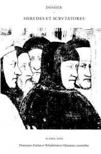 Heredes et Scrutatores, Altera Pars